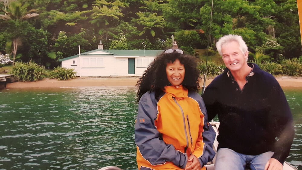 Peter And Takutai Beech Are Owners Of Maori Eco Cruises In Marlborough Sounds NZ